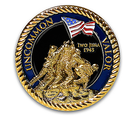 USMC Official Commemorative Challenge Coin Collection