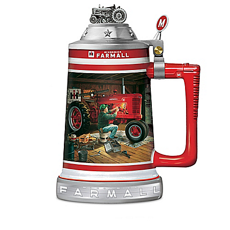 Farmall Tractor Commemorative Stein Collection