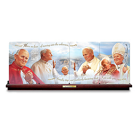 His Holiness Pope Saint John Paul II Collector Plate Collection: 1 of 999