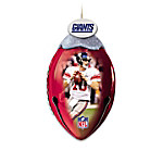 NFL New York Giants FootBells Ornament Collection