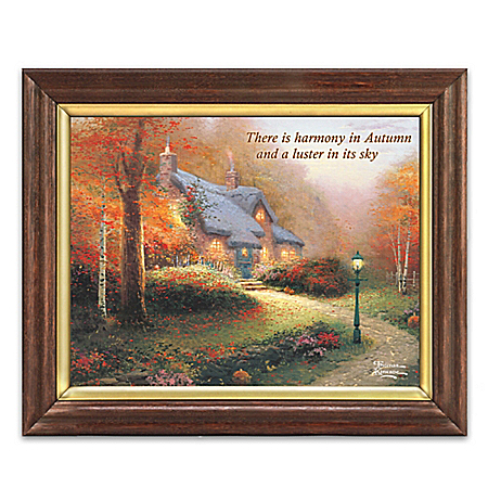 Home decor collectibles inspirational home decor - Home interiors thomas kinkade prints ...