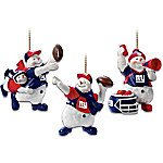 New York Giants Christmas Ornament Collection - Coolest Fans