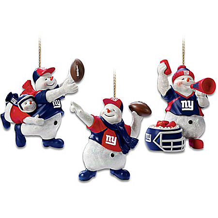 New York Giants Christmas Ornament Collection: Coolest Fans