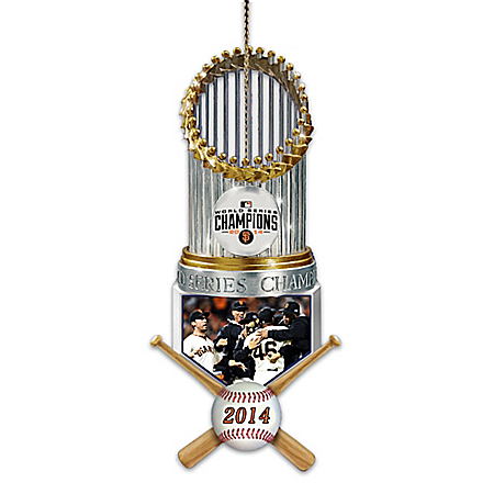 MLB-Licensed San Francisco Giants World Series Ornament Collection