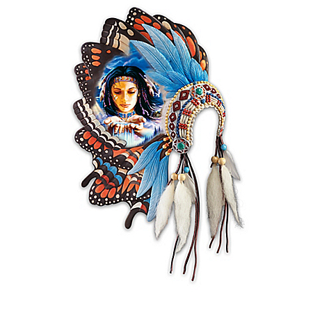 Native American Inspired Butterfly Dreams Wall Decor Collection