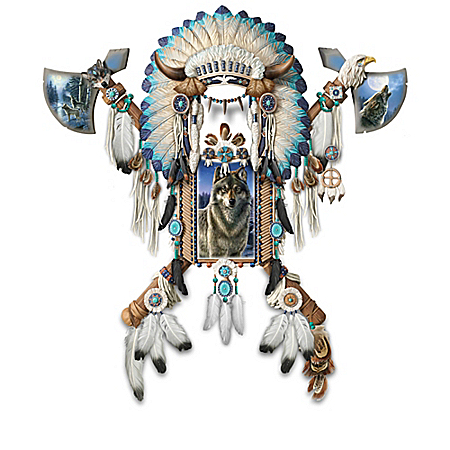 Valiant Spirit Native American-Inspired Wall Decor Collection