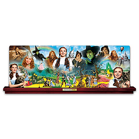 THE WIZARD OF OZ Panoramic Collector Plate Collection With DOROTHY