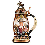 John Wayne, Western Icon Porcelain Stein Collection