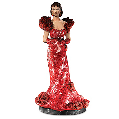 GONE WITH THE WIND SCARLETT O'HARA: Star Of The South Sculpture Collection