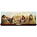 The Light Of Life Jesus Christ Collector Plate