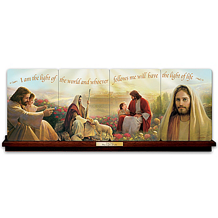 The Light Of Life Jesus Christ Collector Plate Collection