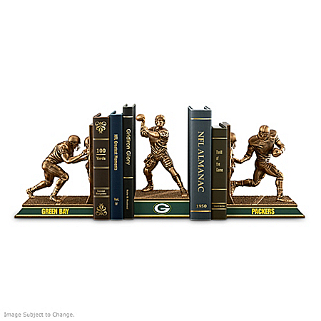 Bookends Collection: Green Bay Packers Legacy Bookends Collection