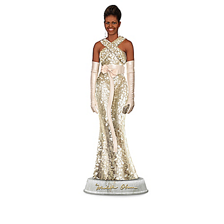 Michelle Obama: First Lady Of Fashion Sculpture Collection