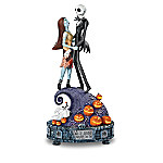 The Nightmare Before Christmas Jack And Sally Musical Figurine Collection