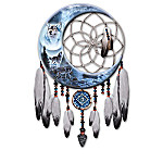 Al Agnew Scared Guardian Wolf Dreamcatcher Wall Decor Collection