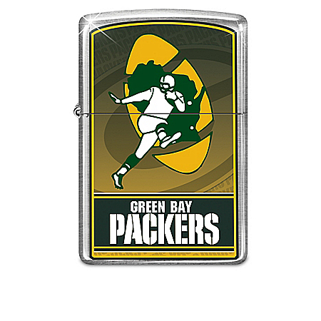 NFL Green Bay Packers Zippo Windproof Lighter Collection