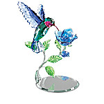 Garden Treasures Of Sparkling Elegance Hand-Polished Crystal Figurine Collection