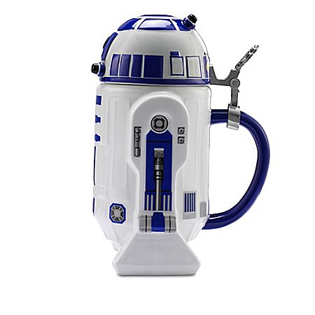 Star Wars Beer Stein Collection With R2-D2, Darth Vader And More