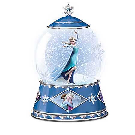 Disney FROZEN Winter Magic Snowglobe Collection
