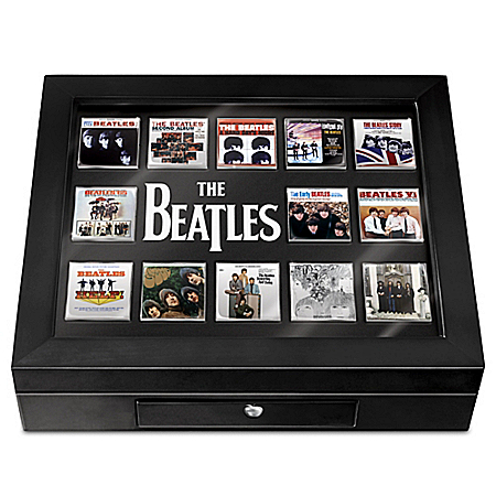 The Beatles American Invasion Album Cover Pin Collection