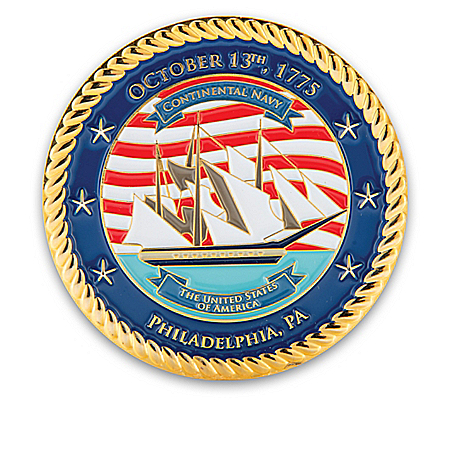 U.S. Navy Official Commemorative Challenge Coin Collection
