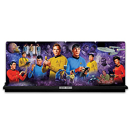 The Exploration Continues STAR TREK Collector Plate Collection