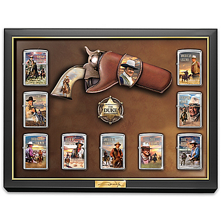 John Wayne The Duke: Great American West Zippo® Lighter Collection