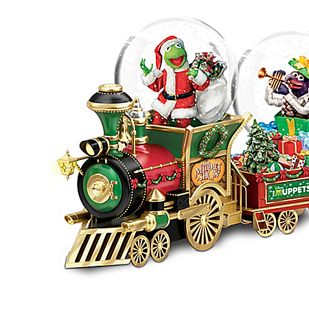 Disney The Muppets Holiday Express Snowglobe Collection 904506