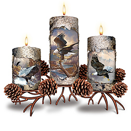 Luminous Majesty Candleholder Collection