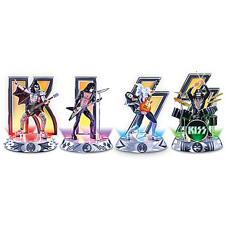 KISS Destroyer Illuminated Figurine Collection