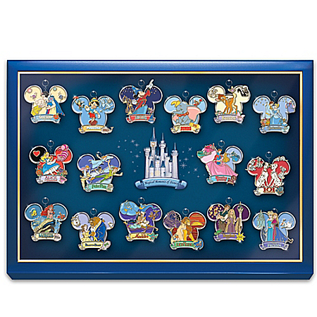 The Magical Moments Of Disney Keychain Collection