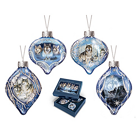 The Spirit Within Luminary Glass Ornament With Timer Collection