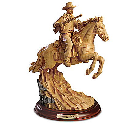 John Wayne: Western Hero Sculpture Collection
