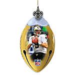 New Orleans Saints FootBells Ornament Collection