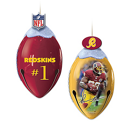 Washington Redskins FootBells Ornament Collection