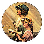 Norman Rockwell Heritage Collector Plate