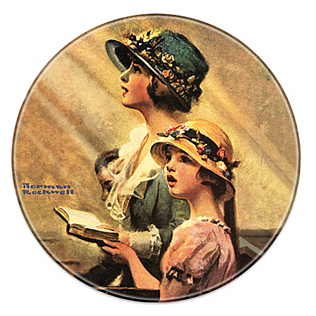 Norman Rockwell Heritage Collector Plate Collection