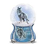 Eddie LePage Spirits Within Musical Glitter Globe Collection