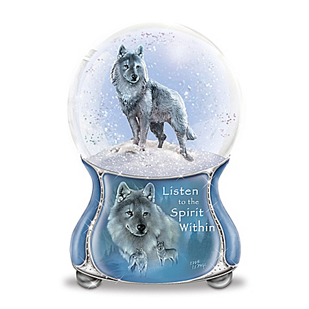 Eddie LePage Spirits Within Musical Glitter Globe Collection