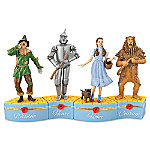 THE WIZARD OF OZ We're Off To See The Wizard Heirloom Porcelain Music Box Collection