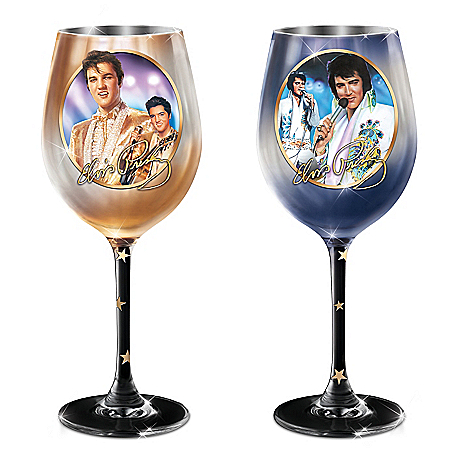 Elvis Signature Wine Glass Collection