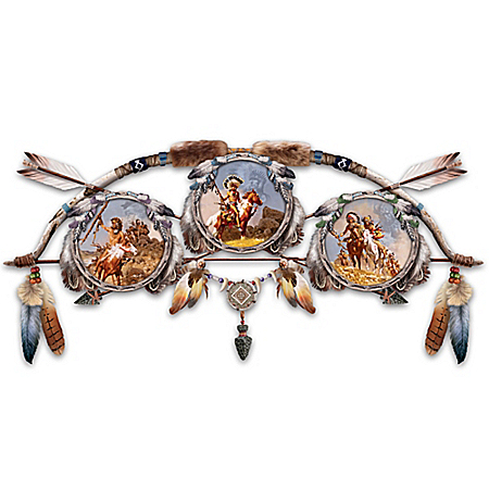 Frank McCarthy Guiding Spirits Glow-In-The-Dark Dreamcatcher Wall Decor Collection