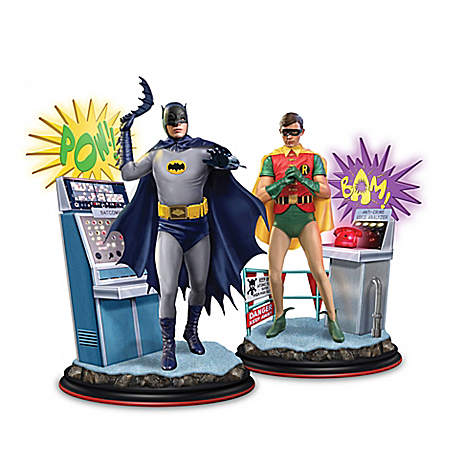 Batman Classic TV Series Illuminated Figurine Collection 904710