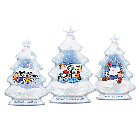 PEANUTS O Christmas Tree Sculpture Collection
