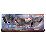 Soaring Spirits Of America Freedom Panorama Collector Plate Collection