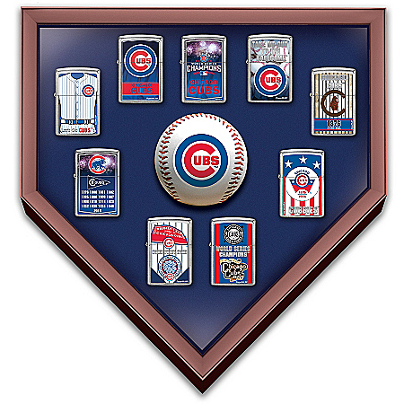 Chicago Cubs World Series Zippo Lighter Collection