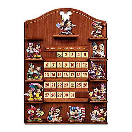 Mickey Mouse And Minnie Mouse Together Forever Calendar