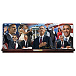 Barack Obama America's 44th President Limited-Edition Collector Plate Collection