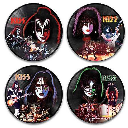 KISS Vinyl Records Revolution Wall Decor Collection