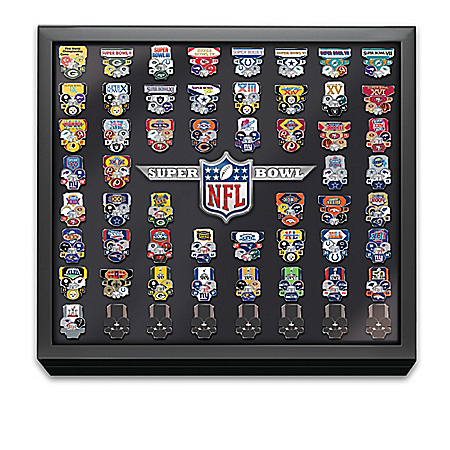 NFL Super Bowl Pin Football Team Collection